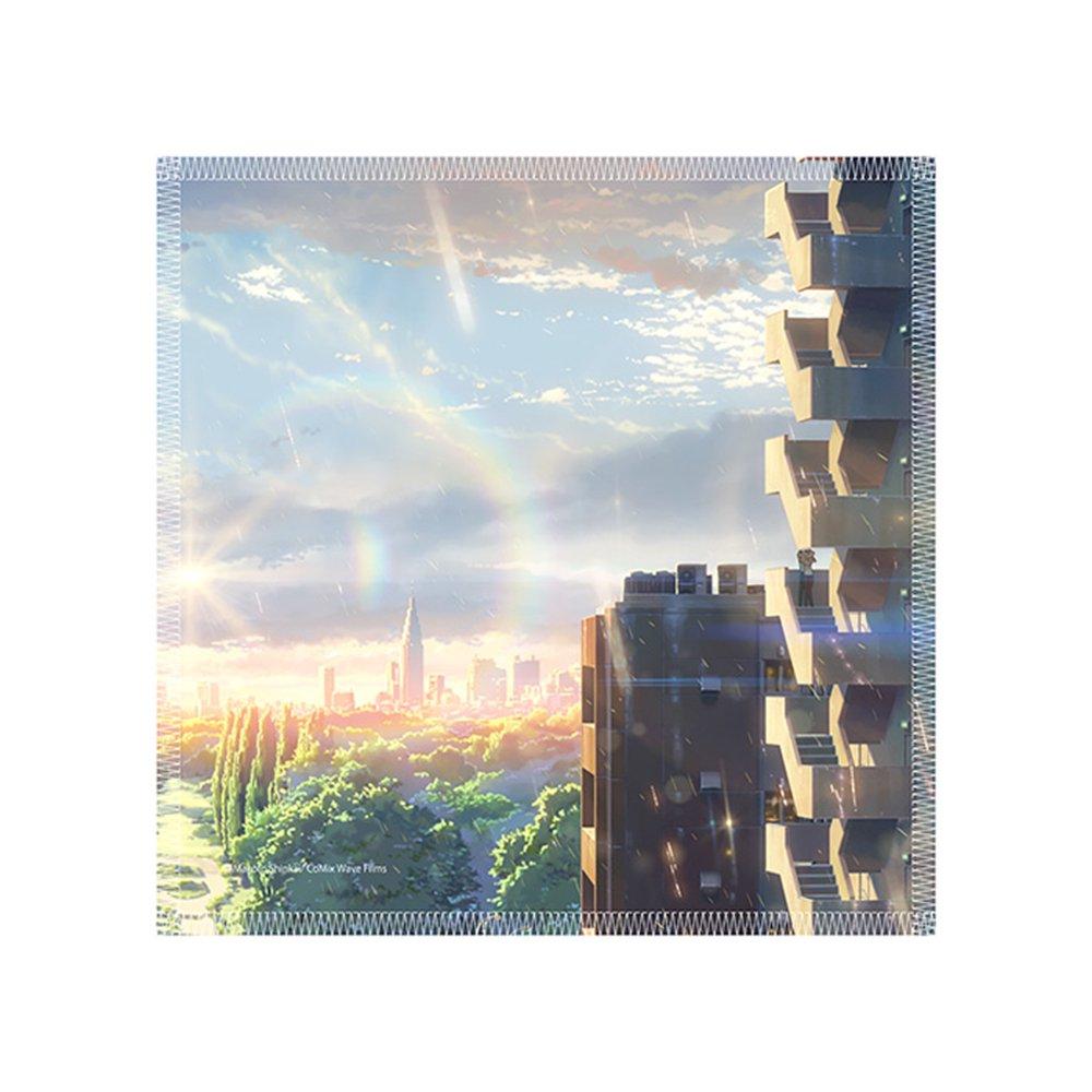 新海誠作品 Scenery mini towel 言の葉の庭 TypeC