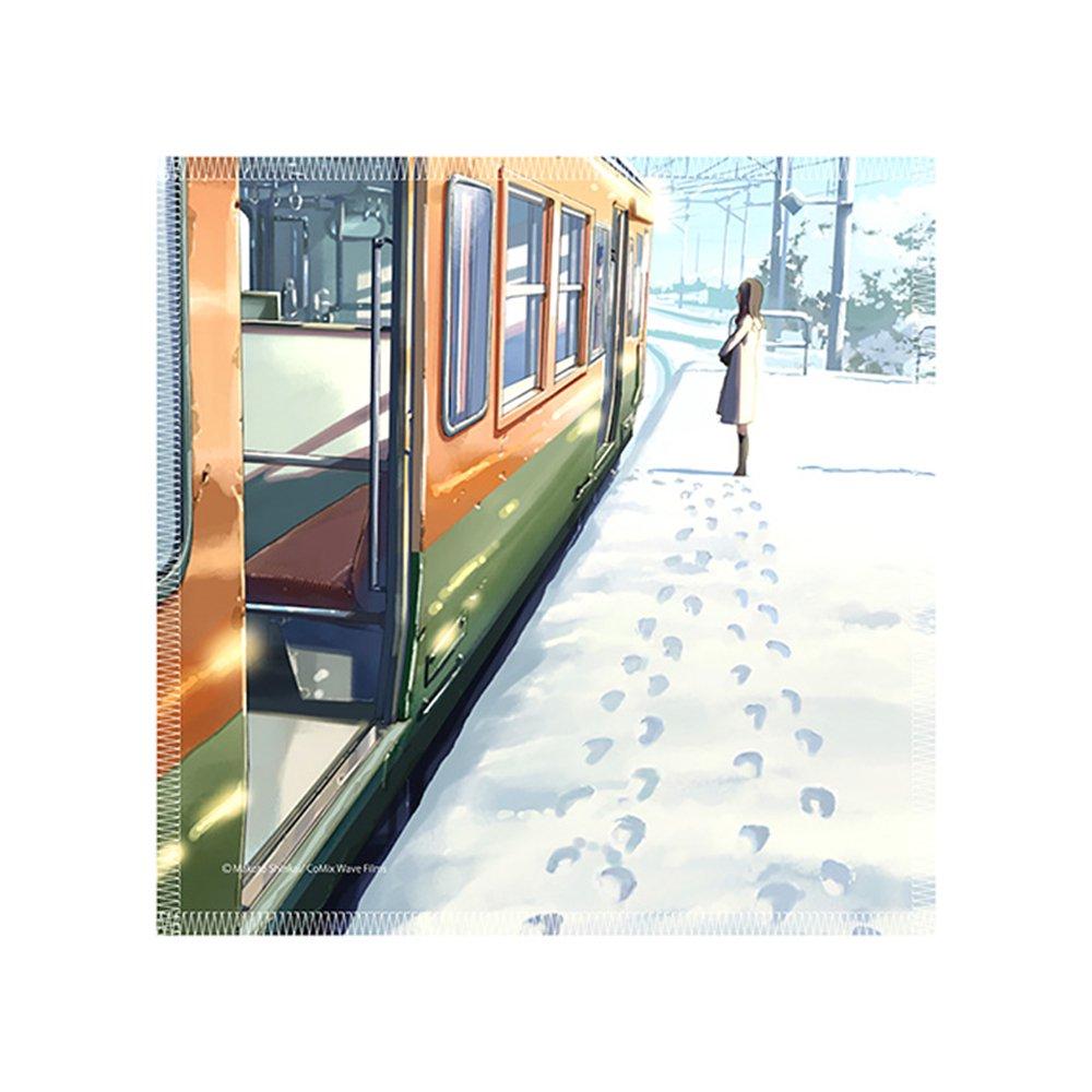 新海誠作品 Scenery mini towel 秒速5センチメートル TypeA