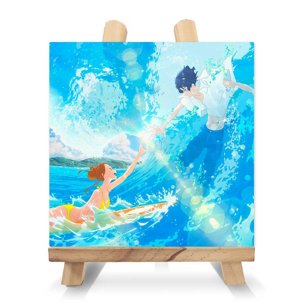 きみと、波にのれたら スクエアキャンバス&イーゼルセット