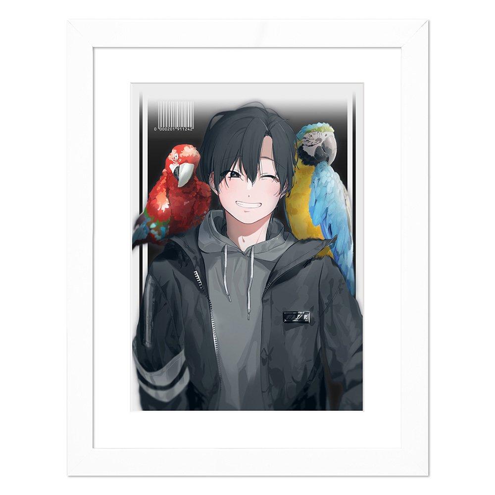 カン田 キャラファイン『Parrot』
