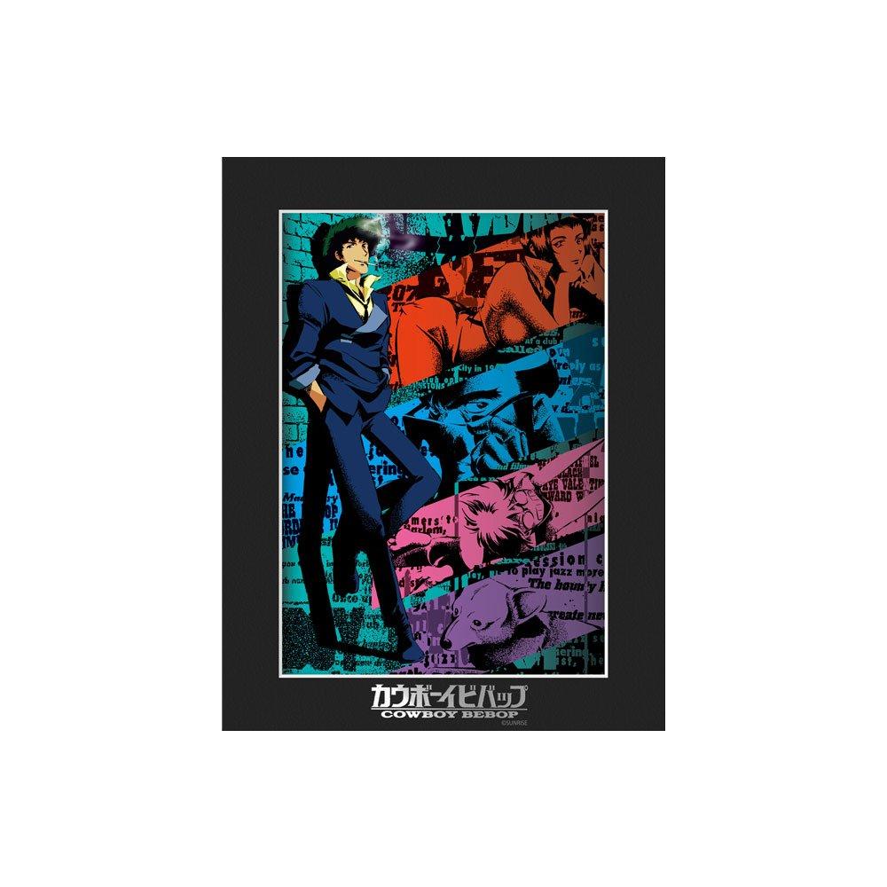 カウボーイビバップ キャラファインマットI:『アニメージュ』1998年8月号