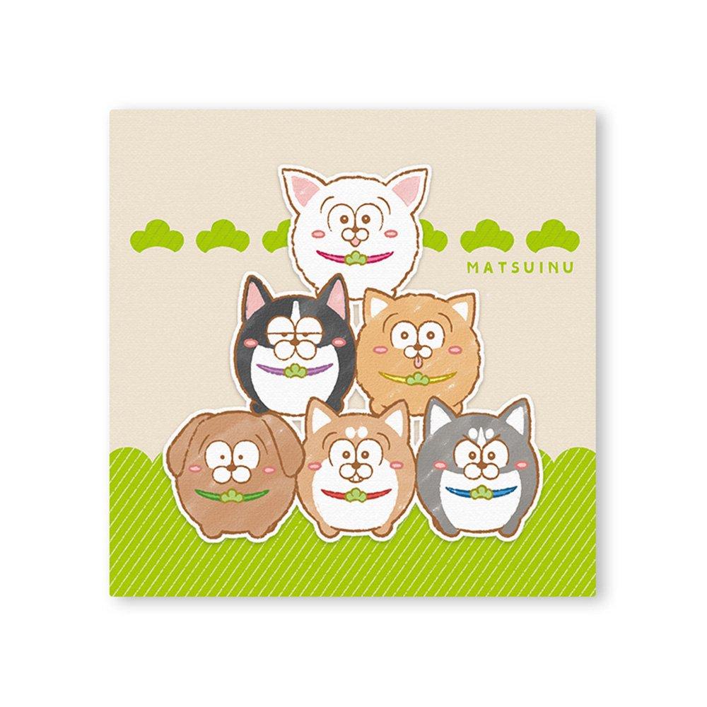 松犬 キャンバス&イーゼルセット A
