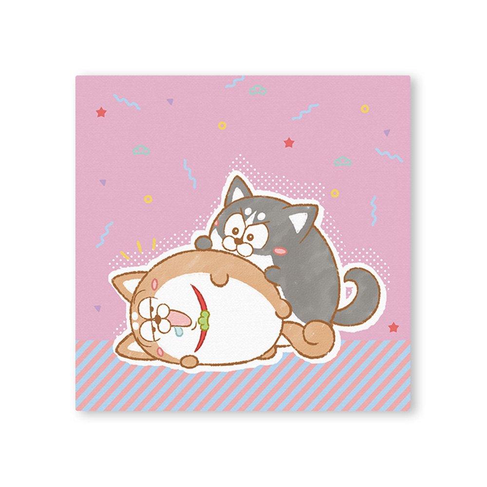 松犬 キャンバス&イーゼルセット B