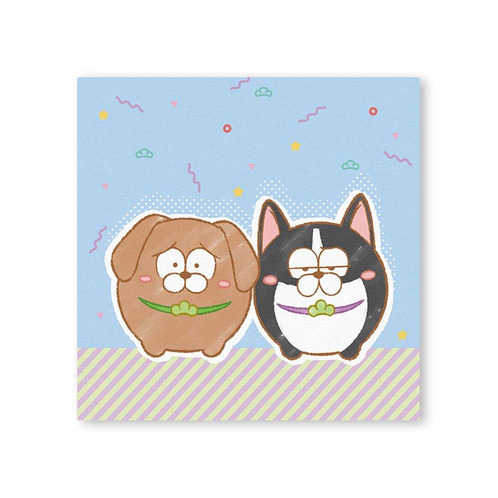 松犬 キャンバス&イーゼルセット C