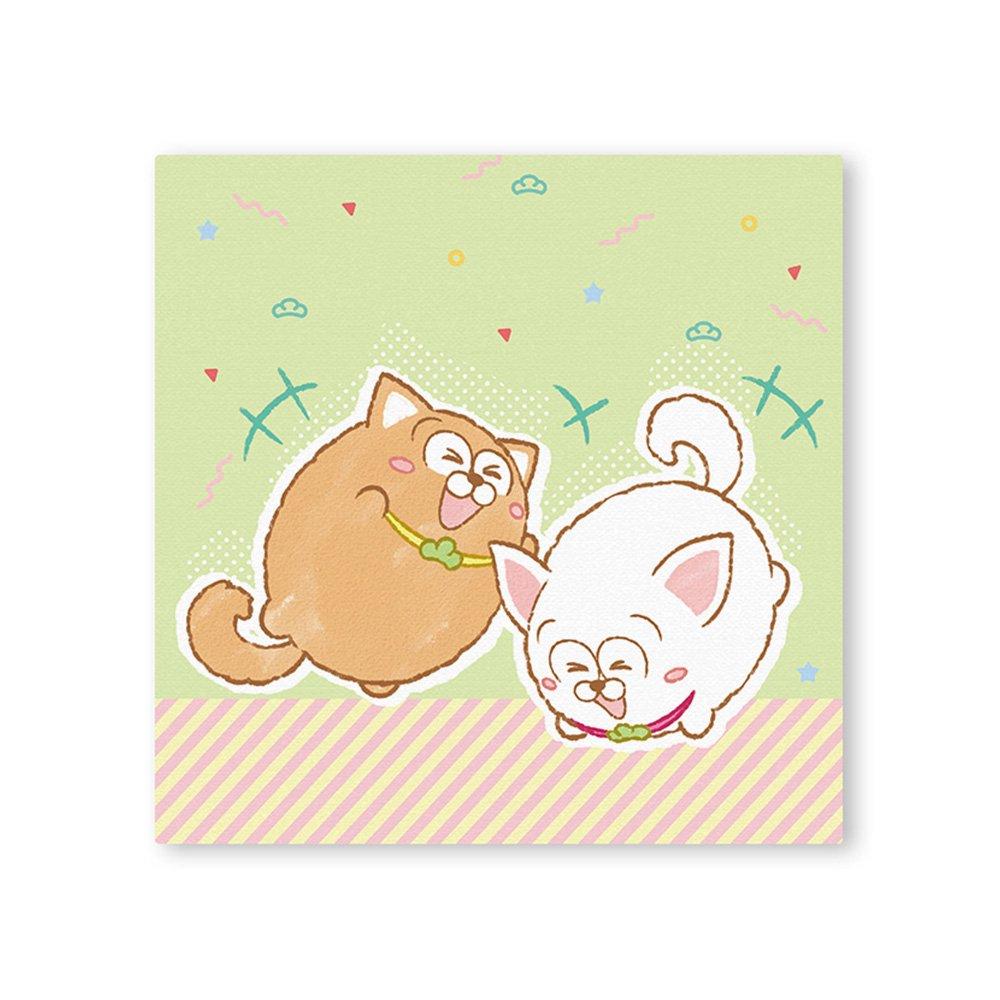 松犬 キャンバス&イーゼルセット D