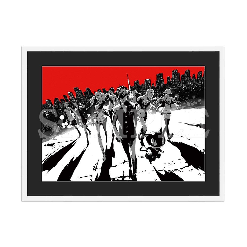 ペルソナ5 A3キャラファイングラフA:「20th アニバーサリー・エディション」BOXアート