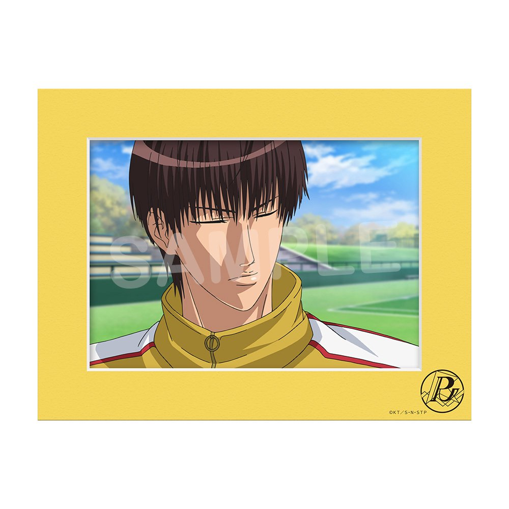 新テニスの王子様 キャラファインマット『柳 蓮二』