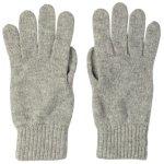 【ユニセックス】<br>カシミア手袋<br>ライトグレー/<br>LIGHTGREY