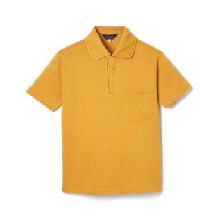 Rayon Jersey Polo Shirt  Yellow