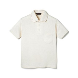 Rayon Jersey Polo Shirt  White