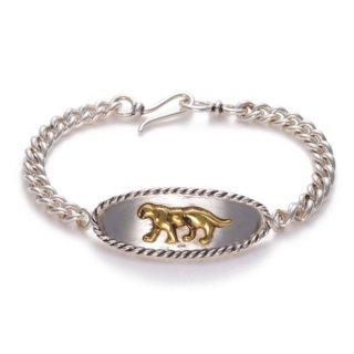 Panther Bracelet  Brass×Silver