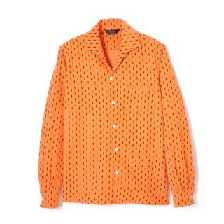 Diamond Cords Shirt  Orange