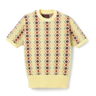 <img class='new_mark_img1' src='//img.shop-pro.jp/img/new/icons1.gif' style='border:none;display:inline;margin:0px;padding:0px;width:auto;' />Argyle Cotton Knit  Cream