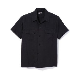 Attractions Black Rayon SS Shirt
