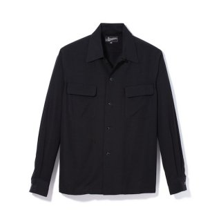 Attractions  Black Rayon LS Shirt