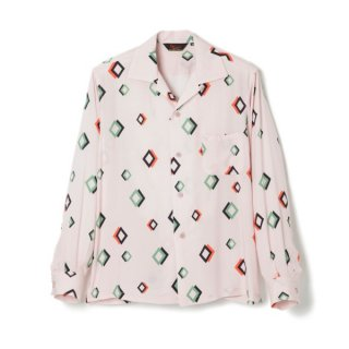 W Diamond L/S Light Pink