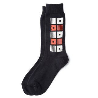 Square Sox Black
