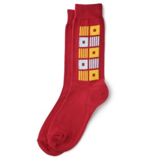Square Sox Red