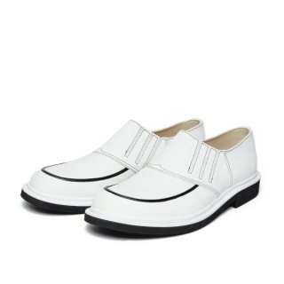 Rubber-Sole Shoes White