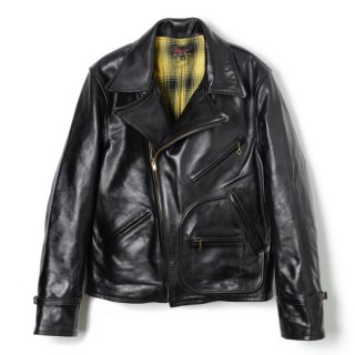 Bond Leather Sport Jacket Black