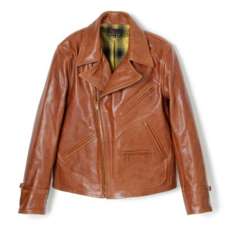 Bond Leather Sport Jacket Brown