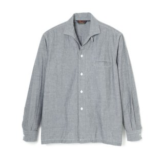 R&R Collar Chambray Black