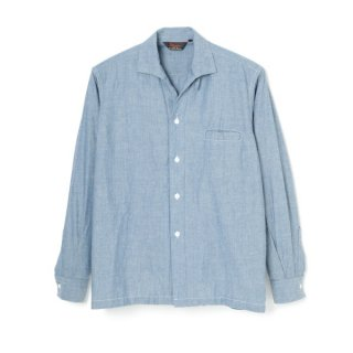 R&R Collar Chambray Blue