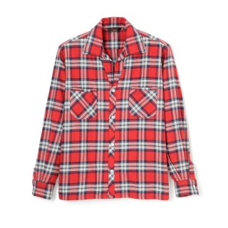 1957 Flannel Shirt Red
