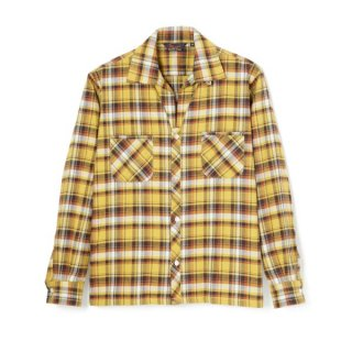 1957 Flannel Shirt Yellow