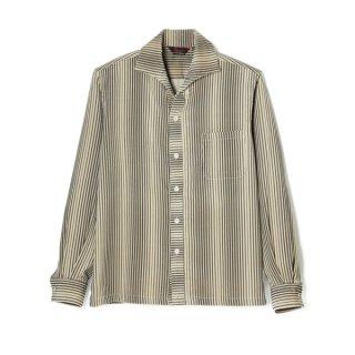 Stripe Cords Shirt Black
