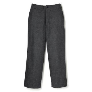 <img class='new_mark_img1' src='//img.shop-pro.jp/img/new/icons1.gif' style='border:none;display:inline;margin:0px;padding:0px;width:auto;' />WEARMASTERS HB Milfolk Trousers Black