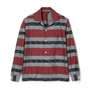 J-Border Shirt L/S Red