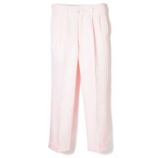 Side Pleats Pants Pink