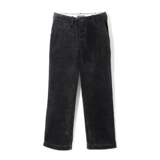 Milfolk Corduroy Trousers Black