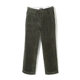 Milfolk Corduroy Trousers Olive Drav