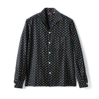 <img class='new_mark_img1' src='//img.shop-pro.jp/img/new/icons1.gif' style='border:none;display:inline;margin:0px;padding:0px;width:auto;' />Diamond Cords Shirt  Black-Gold
