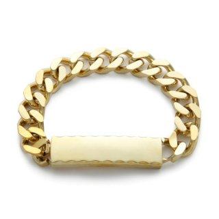 ID Bracelet Brass