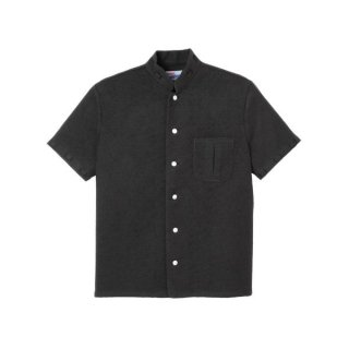 Mandarin Collar Shirt Black