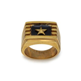 Star Ring Brass