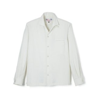 Rock'n Roll Collar Shirt Off White