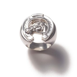 Horse Shoe Ring Silver