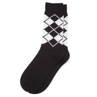 Argyle Sox  Black