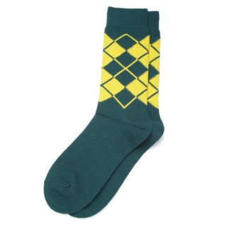 Argyle Sox  Green