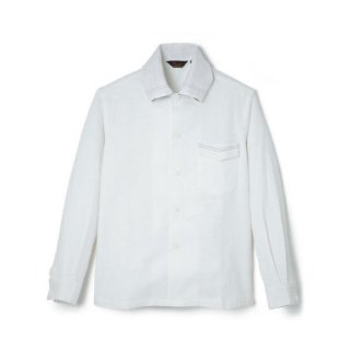 Roll Collar BD Shirt  Off White