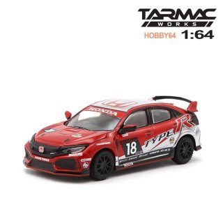 12月予約 Tarmac Works 1/64 Honda Civic Type R FK8 NASA 25 Hours of Thunderhill