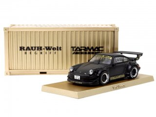 <img class='new_mark_img1' src='https://img.shop-pro.jp/img/new/icons1.gif' style='border:none;display:inline;margin:0px;padding:0px;width:auto;' />Tarmac Works 1/64  HOBBY64 Model Car - Porsche RWB 930 Stella 香港限定