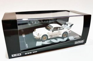 <img class='new_mark_img1' src='https://img.shop-pro.jp/img/new/icons29.gif' style='border:none;display:inline;margin:0px;padding:0px;width:auto;' />Tarmac Works 1/64 HOBBY64 - Porsche RWB 930 Kamiwaza White