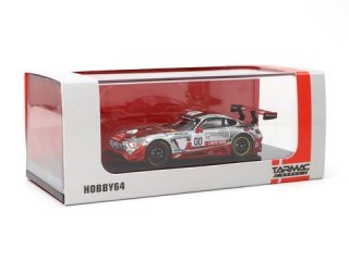<img class='new_mark_img1' src='https://img.shop-pro.jp/img/new/icons1.gif' style='border:none;display:inline;margin:0px;padding:0px;width:auto;' />Tarmac Works 1/64 HOBBY64 -Mercedes AMG GT3 Spa 24h 2016 Buurman / Engel / Schneider
