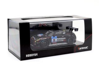 <img class='new_mark_img1' src='https://img.shop-pro.jp/img/new/icons1.gif' style='border:none;display:inline;margin:0px;padding:0px;width:auto;' />Tarmac Works 1/64 HOBBY64 - Nissan GT-R Nismo GT3 Nurburgring 24H 2015