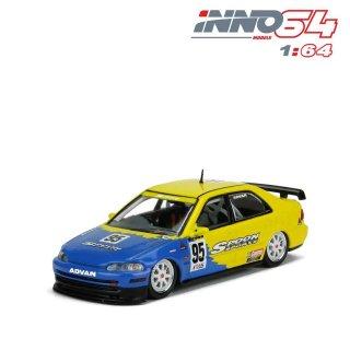 <img class='new_mark_img1' src='https://img.shop-pro.jp/img/new/icons1.gif' style='border:none;display:inline;margin:0px;padding:0px;width:auto;' />12月以降 予約 INNO64 1/64 HONDA シビック フェリオ Gr.A #95 SPOON Macau Guia Race 1995